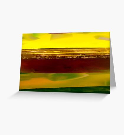 Soaplandscape Greeting Card