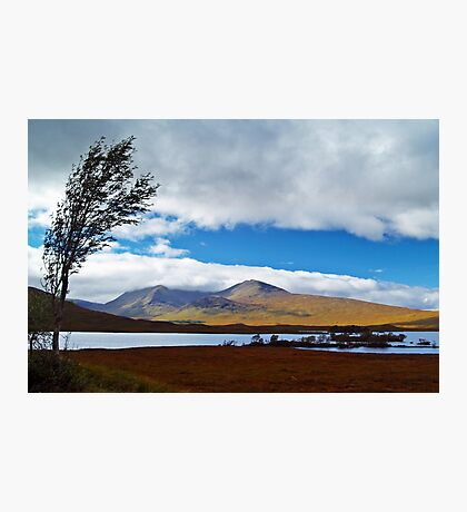 A View Of Rannoch Moor. Photographic Print