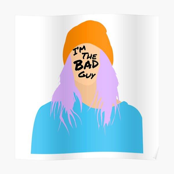 Pastel Billie Poster