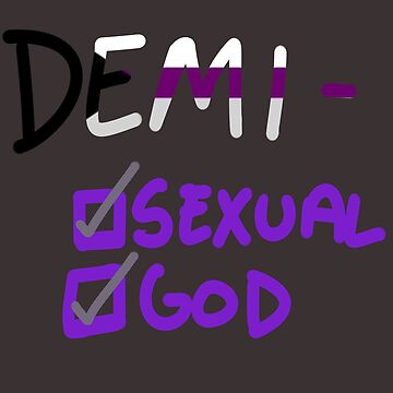 demisexual - demigod by bloosclues