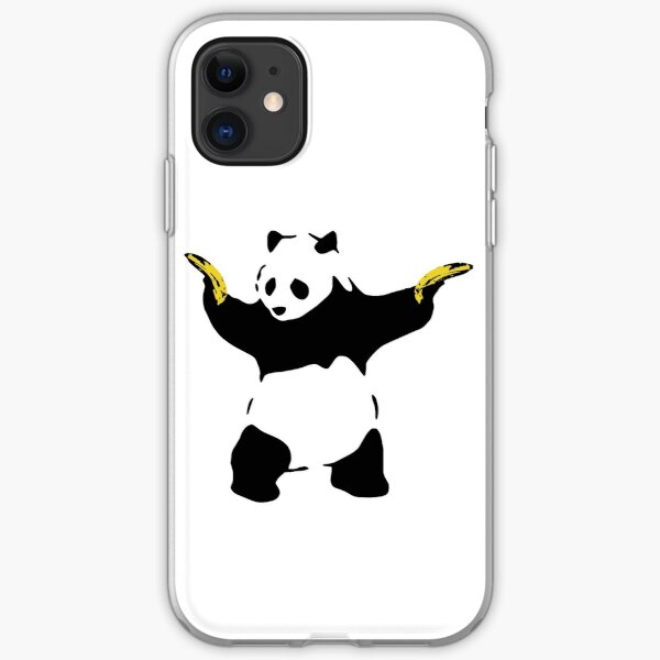Bad Panda Pochoir Coque souple iPhone