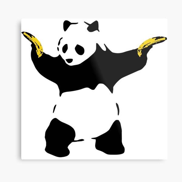 Bad Panda Pochoir Impression métallique