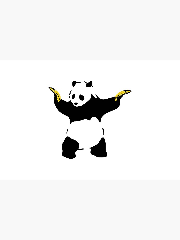 Bad Panda Stencil by gtcdesign