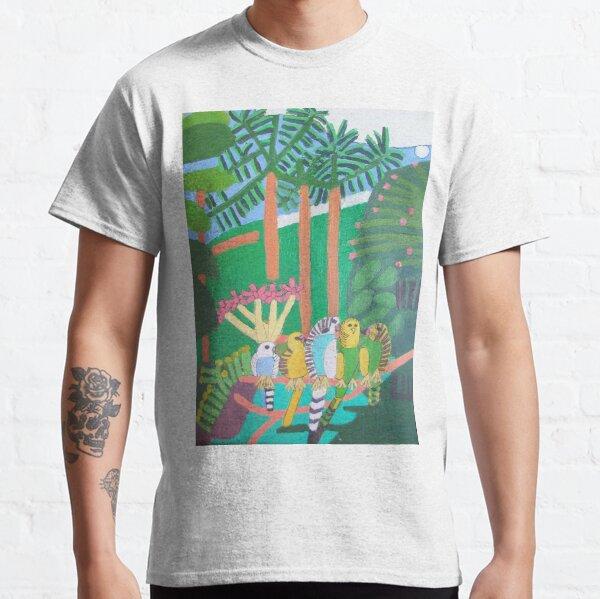 Five Budgerigars Zionart Zion Levy Stewart Classic T-Shirt