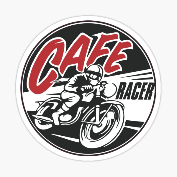 Meilleure vente Cafe Racer Merchandise Sticker