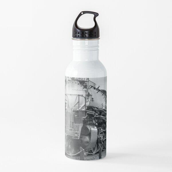 ¡La locomotora de vapor más grande de Badest! Botella de agua