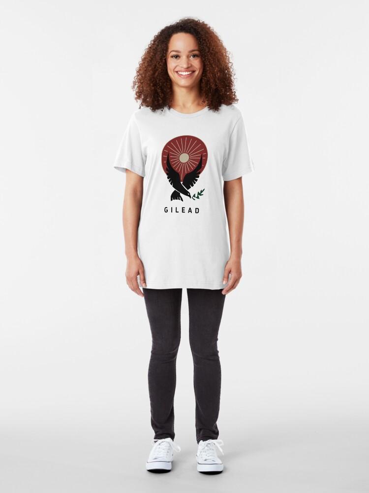 Alternate view of Handmaids Tale Gilead Slim Fit T-Shirt
