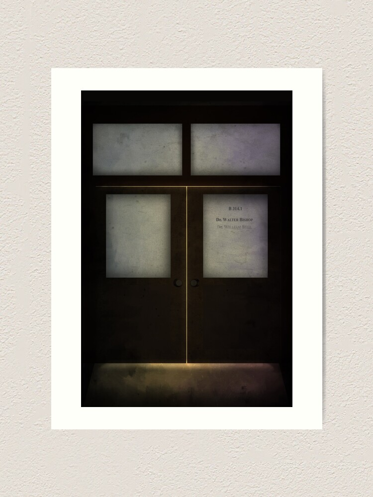 Alternate view of Walter Bishop's Lab (Fringe) Art Print