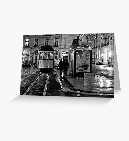 The last tramway Greeting Card