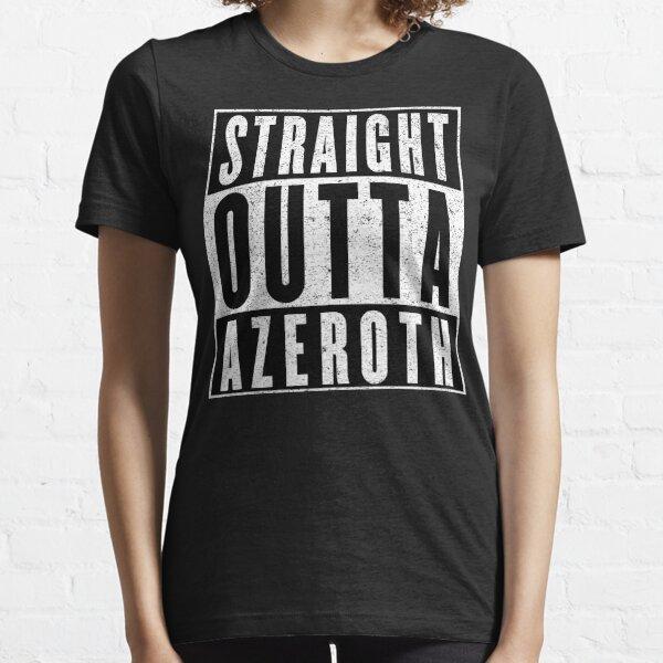 MMORPG-Spieler mit Haltung Essential T-Shirt