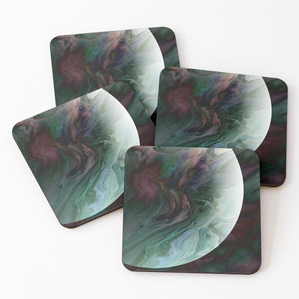 Planet Tourmaline Coasters (Set of 4)
