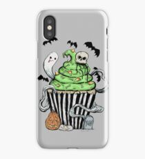 Gothic Cupcake  iPhone Case