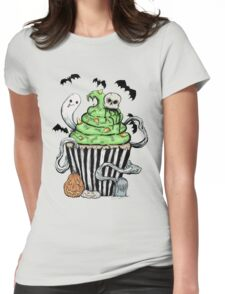 Gothic Cupcake  Womens Fitted T-Shirt