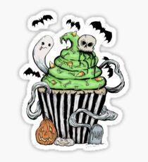 Gothic Cupcake  Sticker