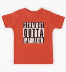 Adventurer with Attitude: Markarth Kids Tee