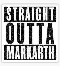 Adventurer with Attitude: Markarth Sticker