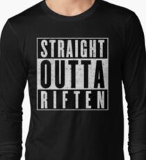 Adventurer with Attitude: Riften Long Sleeve T-Shirt