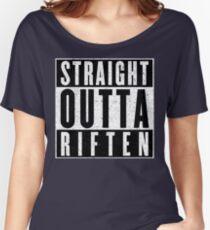 Adventurer with Attitude: Riften Women's Relaxed Fit T-Shirt