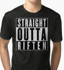 Adventurer with Attitude: Riften Tri-blend T-Shirt