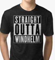 Adventurer with Attitude: Windhelm Tri-blend T-Shirt