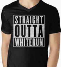 Adventurer with Attitude: Whiterun Mens V-Neck T-Shirt