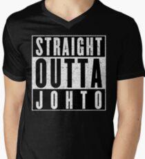 Trainer with Attitude: Johto Men's V-Neck T-Shirt