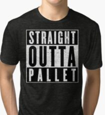 Trainer with Attitude: Pallet Town Tri-blend T-Shirt