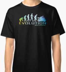 Motorcycle Ape To Evolution Classic T-Shirt