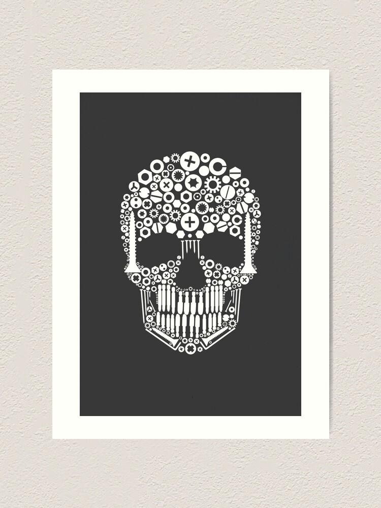 Alternate view of Skull Art Print