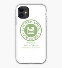 Fresh Code. Deployed Daily iPhone Case