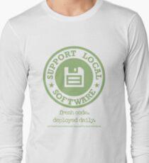 Fresh Code. Deployed Daily Long Sleeve T-Shirt