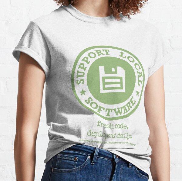 Fresh Code. Deployed Daily Classic T-Shirt