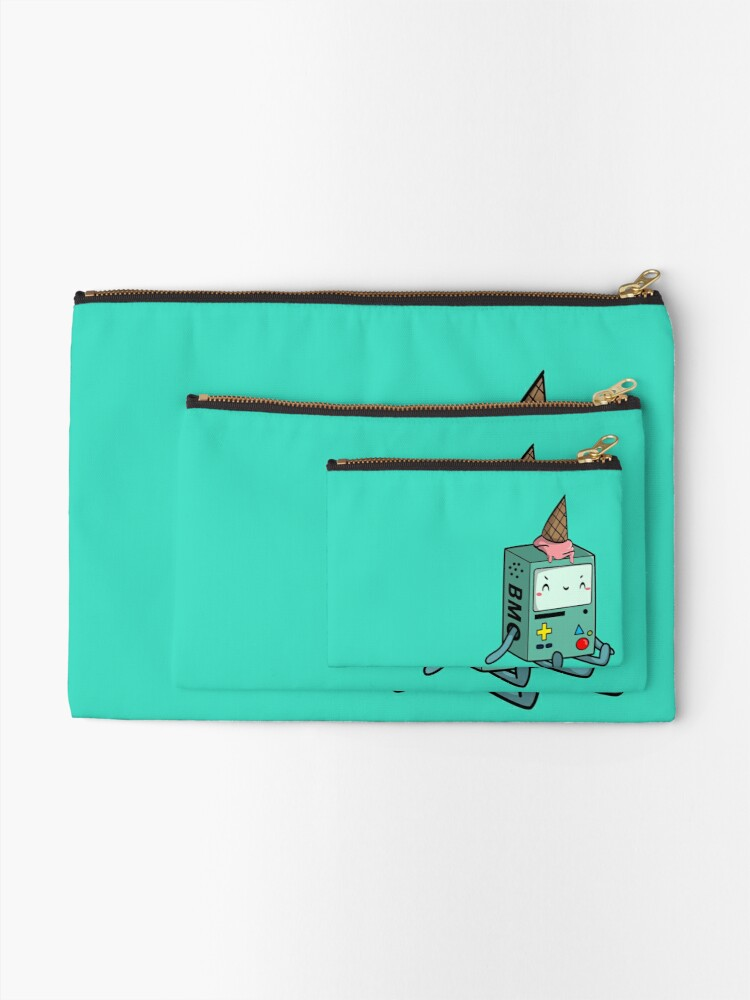 Alternate view of BMO adventure time Zipper Pouch