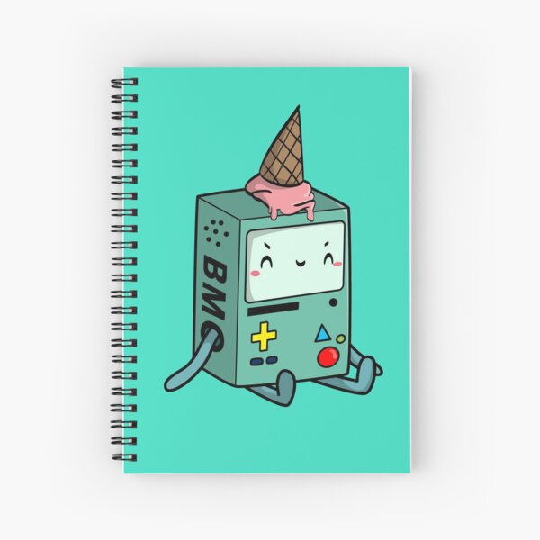 BMO adventure time Spiral Notebook