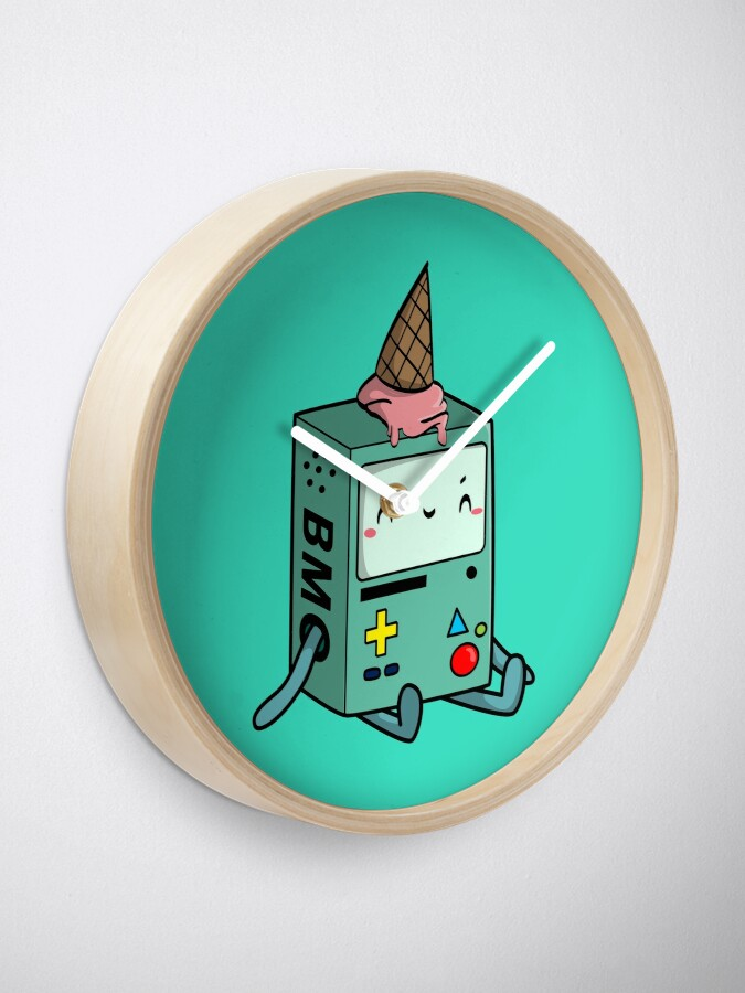 Alternate view of BMO adventure time Clock