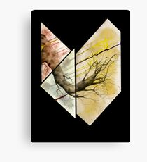 Uprooted and Ready Canvas Print