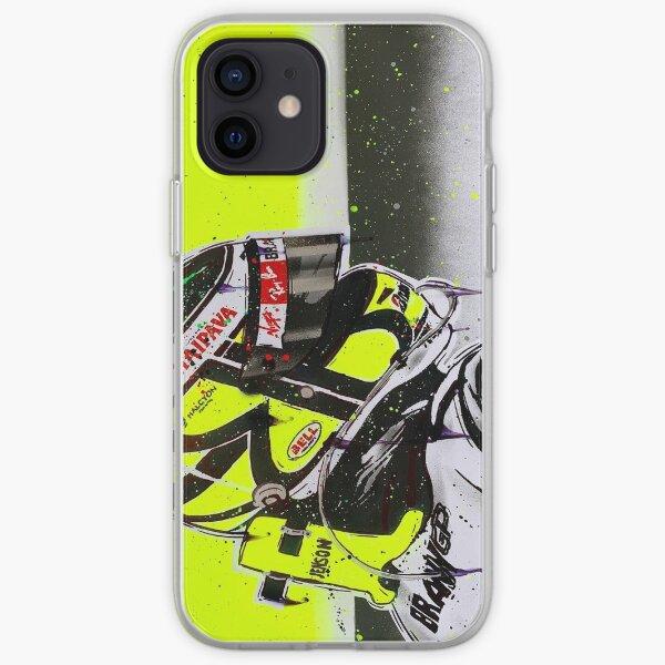 Jenson Button - Brawn GP F1 graffiti painting by DRAutoArt iPhone Soft Case