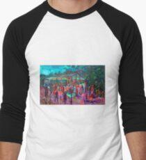 BMUP - N0 4 - the donkey and the Dinner Bell Men's Baseball ¾ T-Shirt