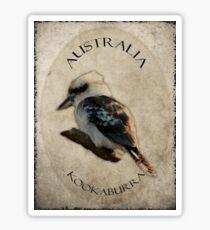 Kookaburra T Sticker
