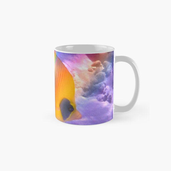 The Bluecheeked Butterflyfish Colorfully Classic Mug