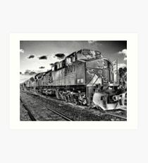 The Train Job Art Print