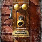 Steampunk - Phone Phace  by Michael Savad