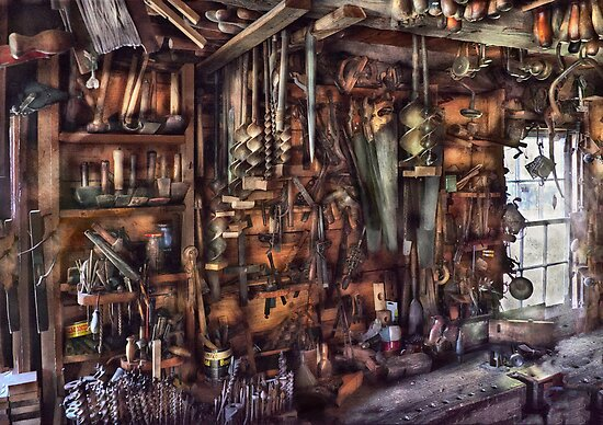 Carpenter - That's a lot of tools  by Michael Savad