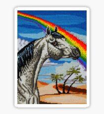Arabian Needlepoint Sticker