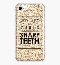 Wolves and Girls iPhone Case/Skin