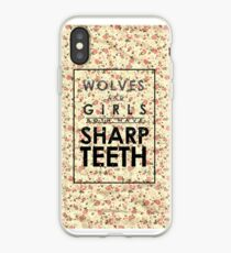 Wolves and Girls iPhone Case