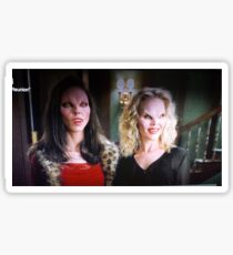 Drusilla and Darla. Sticker