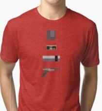 8-Bit love (NES) Tri-blend T-Shirt