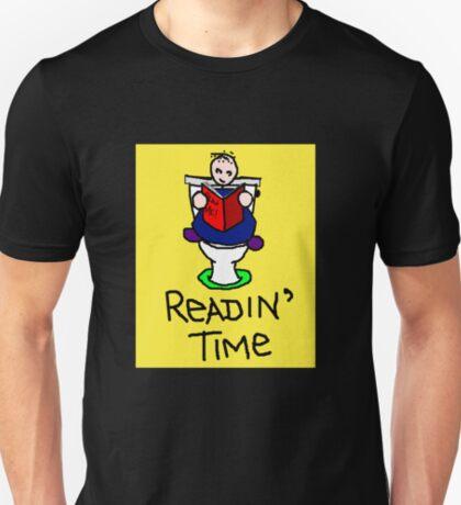 Readin' Time (light background) T-Shirt