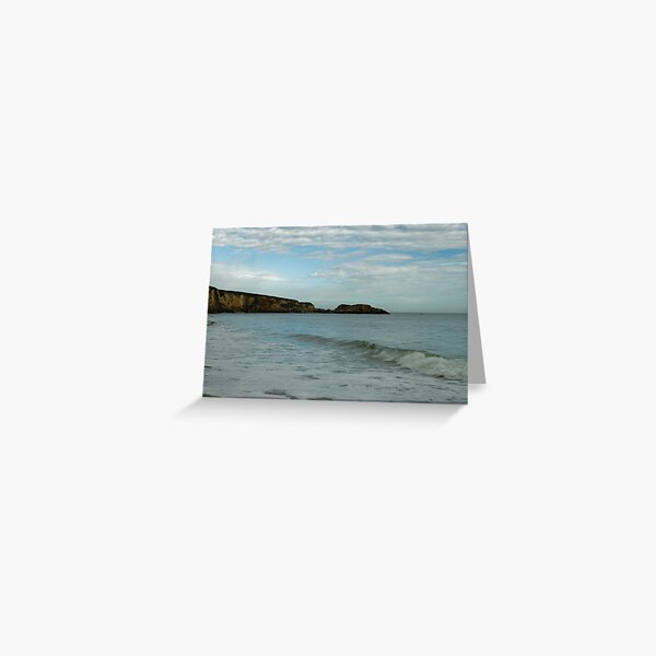 SHIELDS WAVE Greeting Card